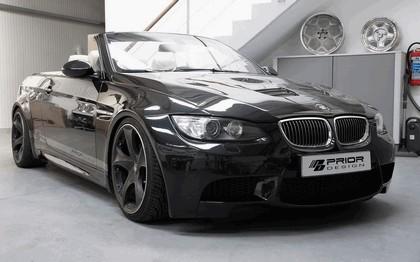 2011 BMW 3er ( E93 ) widebody aerodynamic kit by Prior Design 1