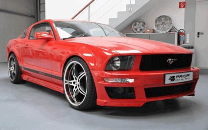 2011 Ford Mustang aerodynamic kit by Prior Design 1