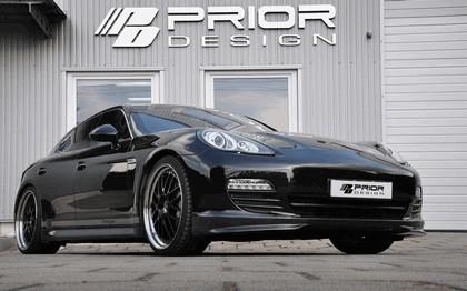 2011 Porsche Panamera ( 970 ) aerodynamic kit by Prior Design 3