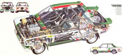 1977 Fiat 131 Abarth 34