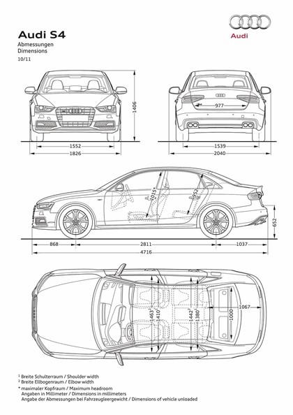 2012 Audi S4 9