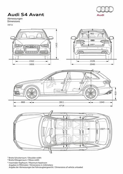 2012 Audi S4 Avant 22