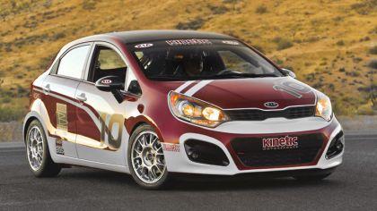 2011 Kia Rio 5 Bspec racer 1