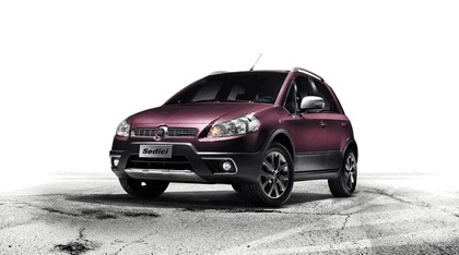 2012 Fiat Sedici 1