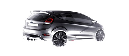 2011 Ford Fiesta ST concept 30