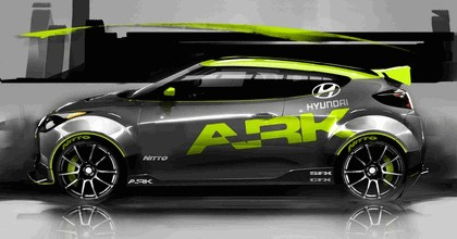 2011 Hyundai Veloster by Ark Performance 47