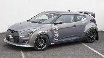 2011 Hyundai Veloster by Ark Performance 2