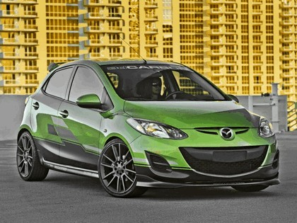 2011 Mazda 2 by 3dCarbon 4