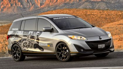 2011 Mazda 5 MRLS support vehicle 4