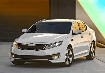 2012 Kia Optima Hybrid 8
