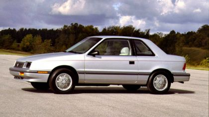 1986 Plymouth Sundance 2-door 9