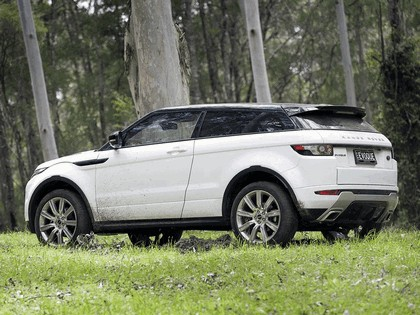 2011 Land Rover Range Rover Evoque Dynamic - Australian version 2