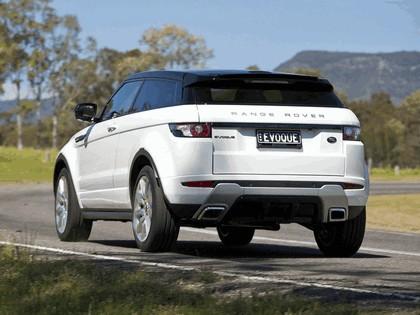 2011 Land Rover Range Rover Evoque Dynamic - Australian version 11