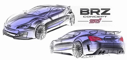 2012 Subaru BRZ concept STI 6