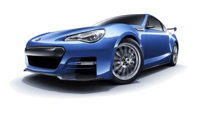 2012 Subaru BRZ concept STI 8