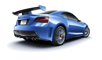 2012 Subaru BRZ concept STI 9