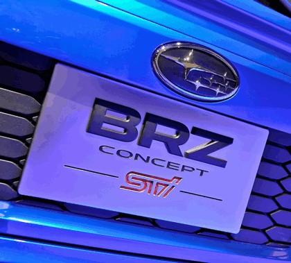 2012 Subaru BRZ concept STI 26