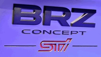 2012 Subaru BRZ concept STI 27
