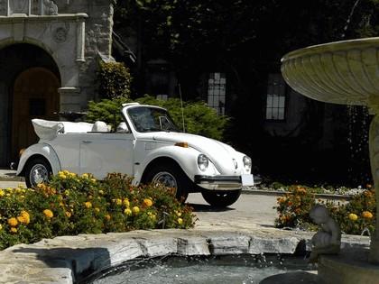 1978 Volkswagen Triple White Super Beetle Convertible 1