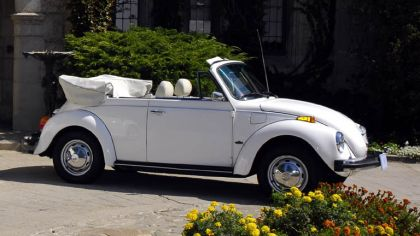 1978 Volkswagen Triple White Super Beetle Convertible 1