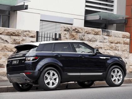 2011 Land Rover Range Rover Evoque Prestige - Australian version 9