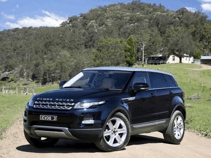2011 Land Rover Range Rover Evoque Prestige - Australian version 11