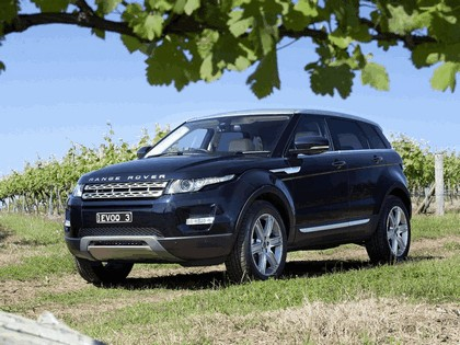 2011 Land Rover Range Rover Evoque Prestige - Australian version 14