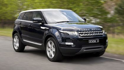 2011 Land Rover Range Rover Evoque Prestige - Australian version 8