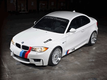 2011 BMW 1er M coupé by H&R 1