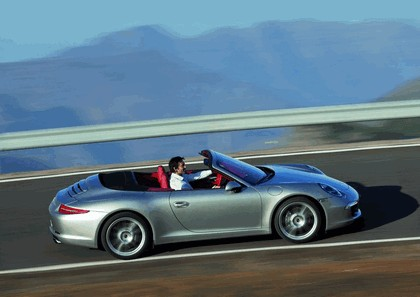 2011 Porsche 911 ( 991 ) Carrera cabriolet 4