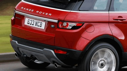 2012 Land Rover Range Rover Evoque 5-door 9