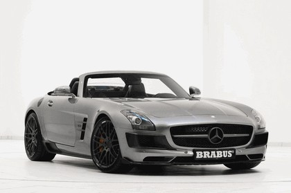 2011 Mercedes-Benz SLS AMG roadster by Brabus 1