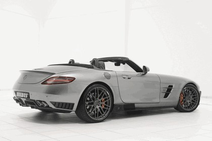 2011 Mercedes-Benz SLS AMG roadster by Brabus 3