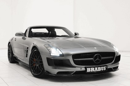 2011 Mercedes-Benz SLS AMG roadster by Brabus 7