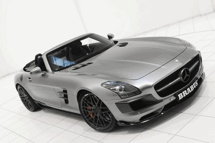 2011 Mercedes-Benz SLS AMG roadster by Brabus 8