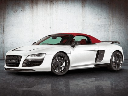 2012 Audi R8 V10 spyder by Mansory 1