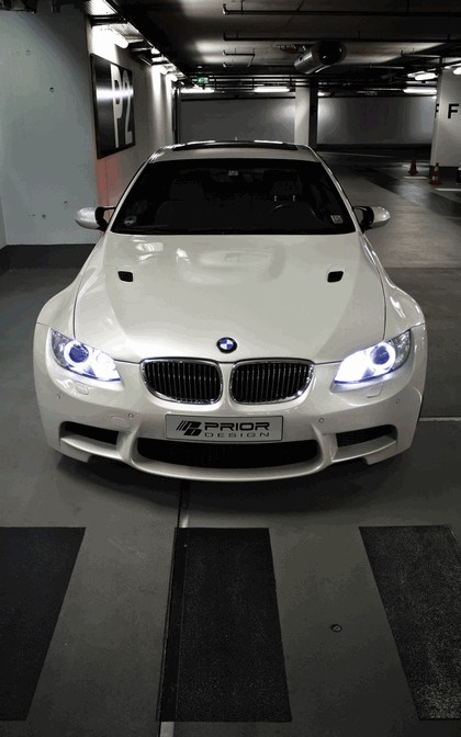 2011 BMW 3er ( E92 ) with widebody kit by Prior Design 8