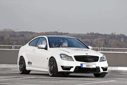 2011 Vaeth V63 Supercharged ( based on Mercedes-Benz C63 AMG coupé ) 1