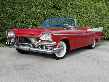 1958 Dodge Coronet Super D-500 convertible 2