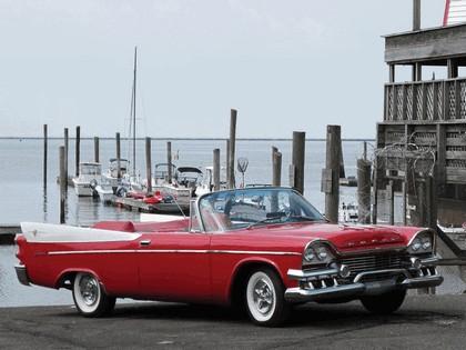 1958 Dodge Coronet Super D-500 convertible 4