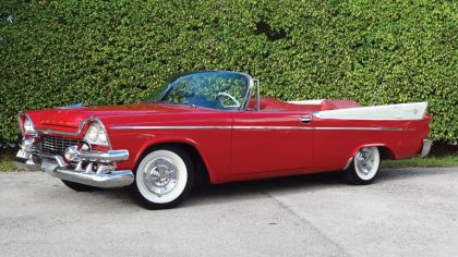 1958 Dodge Coronet Super D-500 convertible 2