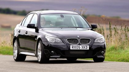 2006 BMW 540i with M Sport package UK version 4