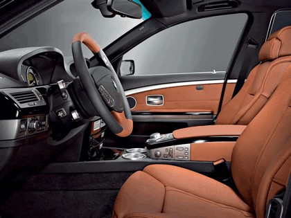2006 BMW 730d Special edition exclusive ( carbon black - gold brown ) 5