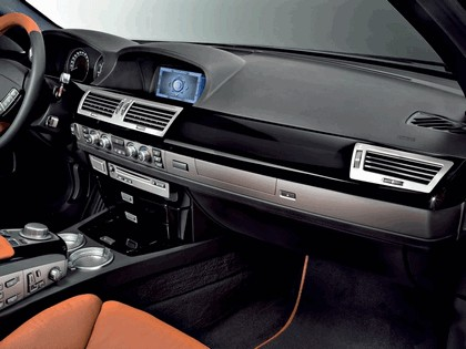 2006 BMW 730d Special edition exclusive ( carbon black - gold brown ) 9