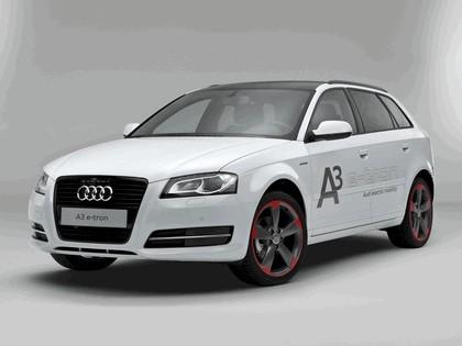 2011 Audi A3 sportback ( 8PA ) e-Tron prototype 1