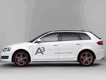 2011 Audi A3 sportback ( 8PA ) e-Tron prototype 2