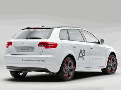 2011 Audi A3 sportback ( 8PA ) e-Tron prototype 3