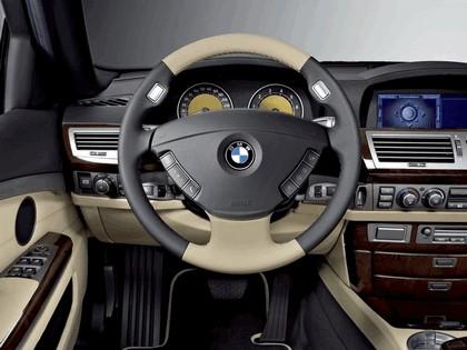 2006 BMW 760Li Special edition exclusive ( stratus grey - ecru ) 8