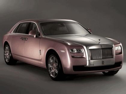 2011 Rolls-Royce Ghost Rose Quartz 1