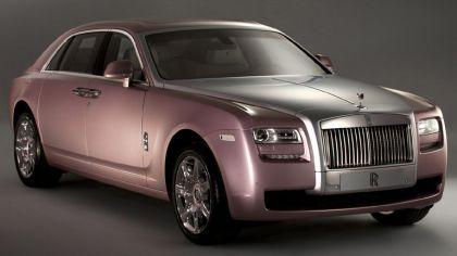 2011 Rolls-Royce Ghost Rose Quartz 8